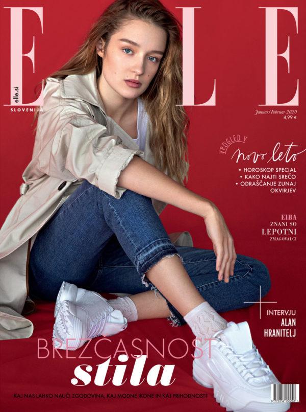 Elle Slovenia Cover
