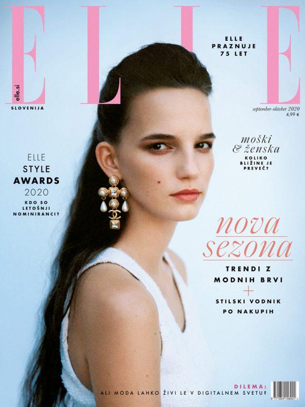 Elle Slovenia Cover September/October 2020